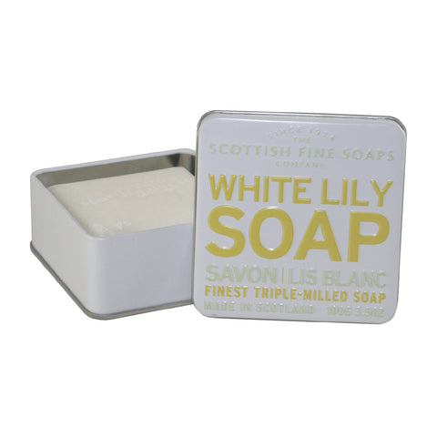 SFS28 - White Lily Soap Soap for Women - 3.5 oz / 105 ml