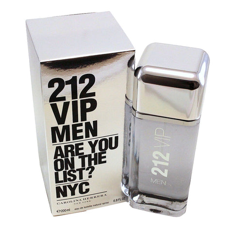 VIP35M - 212 Vip Men Nyc Eau De Toilette for Men - 6.8 oz / 200 ml Spray