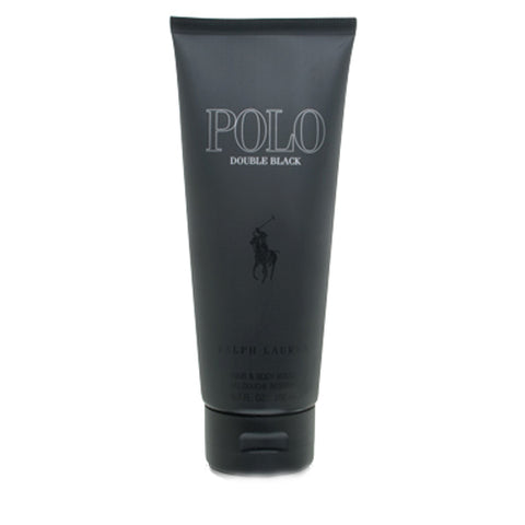 POB17M - Polo Double Black Hair & Body Wash for Men - 6.7 oz / 200 ml