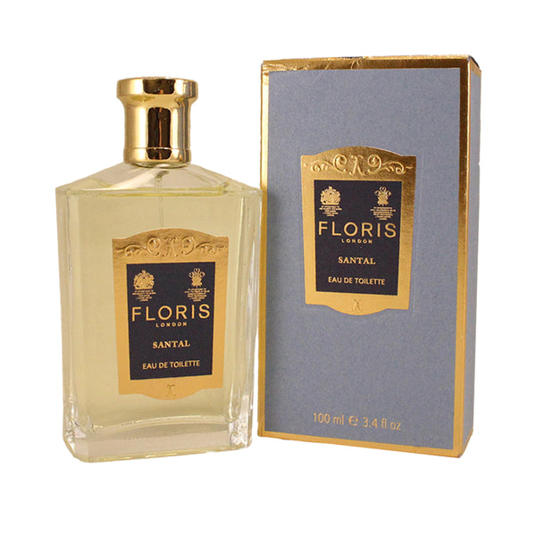 FLS34M - Floris Santal Eau De Toilette for Men - 3.4 oz / 100 ml Spray