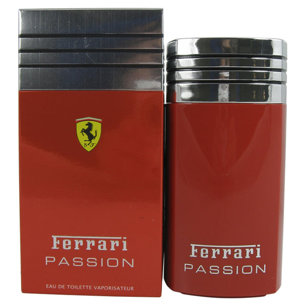 FE428M - Ferrari Passion Eau De Toilette for Men - Spray - 3.3 oz / 100 ml