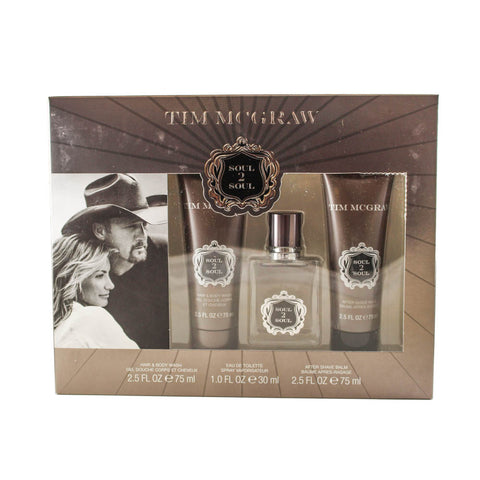MCGS3M - Tim Mcgraw Soul 2 Soul 3 Pc. Gift Set for Men