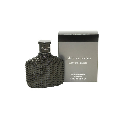 JVB25M - John Varvatos Artisan Black Eau De Toilette for Men - Spray - 2.5 oz / 75 ml