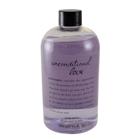 UL16 - Unconditional Love Body Spritz for Women - Splash - 16 oz / 480 ml - Damaged Box