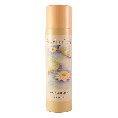 WAT25 - English Waterlilys Body Mist Spray for Women - 4.5 oz / 135 ml