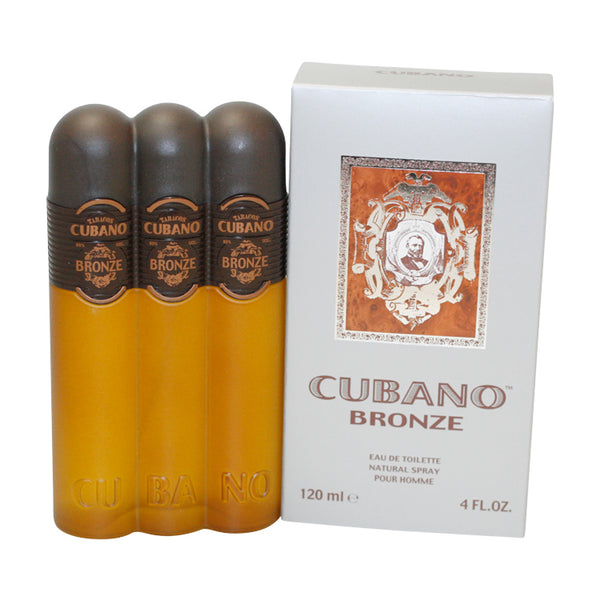 CUB16M-F - Cubano Bronze Eau De Toilette for Men - 4 oz / 120 ml