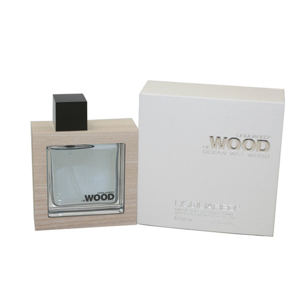 DESW31M - Dsquared2 He Wood Ocean Wet Wood Eau De Toilette for Men - Spray - 1.7 oz / 50 ml