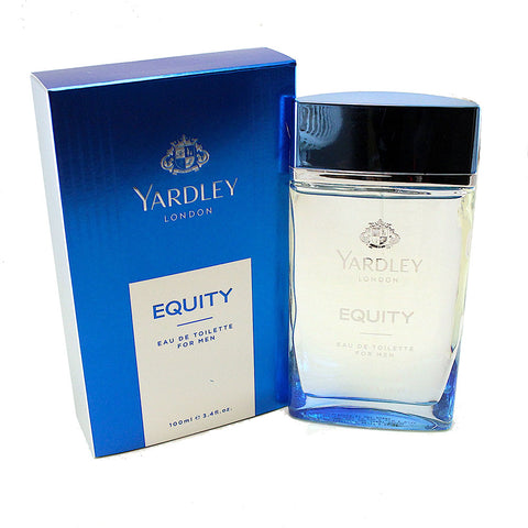 YAR132M-P - Yardley Equity Eau De Toilette for Men - 3.4 oz / 100 ml Spray
