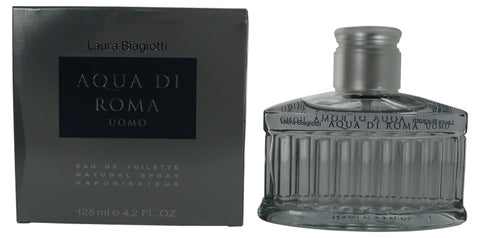 AQU12M - Aqua Di Roma Uomo Eau De Toilette for Men - Spray - 4.2 oz / 125 ml