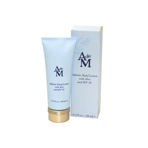 ADM34 - Alexandra De Markoff Infinite Hand Lotion with Aloe for Women | 3.4 oz / 100 ml - SPF 30