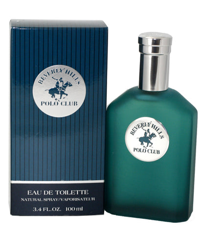 BHP34 - Beverly Hills Polo Club Eau De Toilette for Men - Spray - 3.4 oz / 100 ml