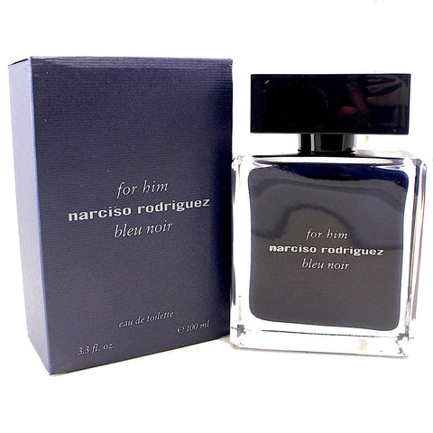 NBN33M - Narciso Rodriguez Bleu Noir Eau De Toilette for Men - 3.3 oz / 100 ml Spray