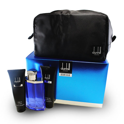 DEB31M - Desrie Blue 4 Pc. Gift Set For Men