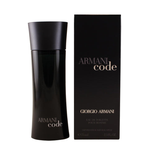 BLA7M - Armani Code Eau De Toilette for Men - Spray - 2.5 oz / 75 ml