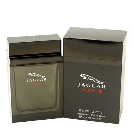 JV33M - Jaguar Vision Iii Eau De Toilette for Men - 3.4 oz / 100 ml Spray