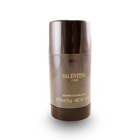VA26M - Valentino Uomo Deodorant for Men - Stick - 2.6 oz / 78 g - Alcohol Free Brown