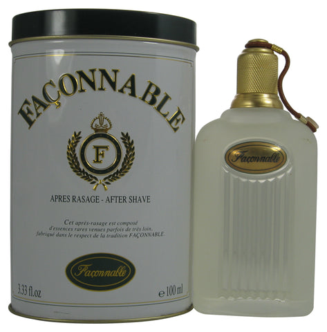 FA35M - Faconnable Aftershave for Men - 3.33 oz / 100 ml