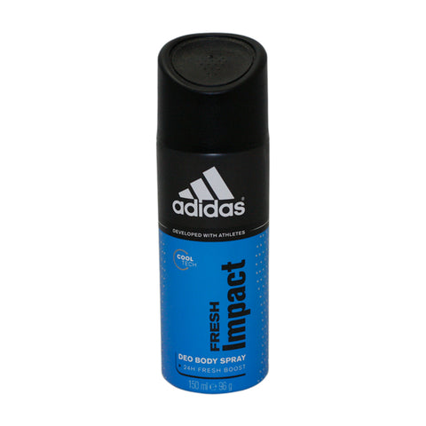 AFI51M - Adidas Fresh Impact Deodorant for Men - Body Spray - 5 oz / 150 ml