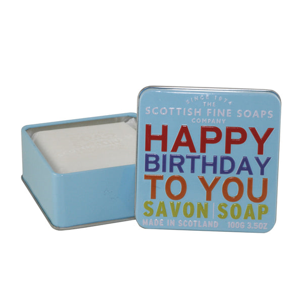 SFS26 - Happy Birthday To You Soap Soap for Women - 3.5 oz / 105 ml