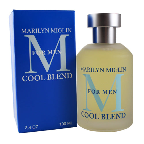 MMCB34M - M For Men Cool Blend Cologne for Men - 3.4 oz / 100 ml Spray