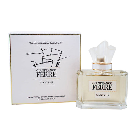 GIF113 - Gianfranco Ferre Camicia 113 Eau De Parfum for Women - 3.4 oz / 100 ml Spray