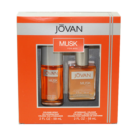 JO85M - Jovan Musk 2 Pc. Gift Set for Men