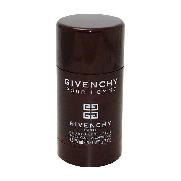 GI60M - Givenchy Pour Homme Deodorant for Men - Stick - 2.7 oz / 75 ml - Alcohol Free