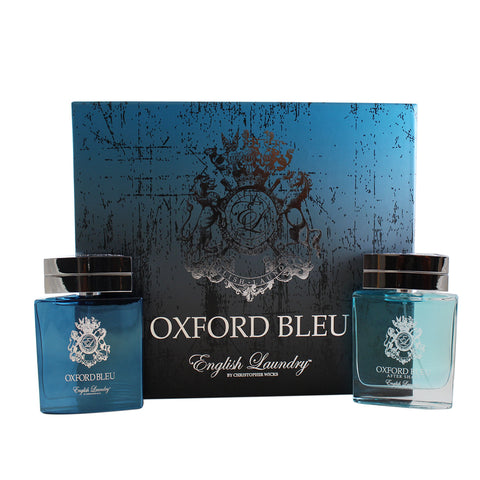 OX35M - Oxford Bleu 2 Pc. Gift Set for Men