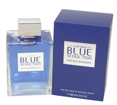 ABS67M - Blue Seduction Eau De Toilette for Men - Spray - 6.7 oz / 200 ml