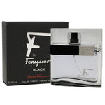 FSB25M - Salvatore Ferragamo F Ferragamo Black Eau De Toilette for Men | 1.7 oz / 50 ml - Spray