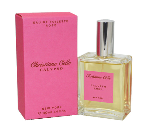 CALY18 - Calypso Rose Eau De Toilette for Women - 3.4 oz / 100 ml Spray