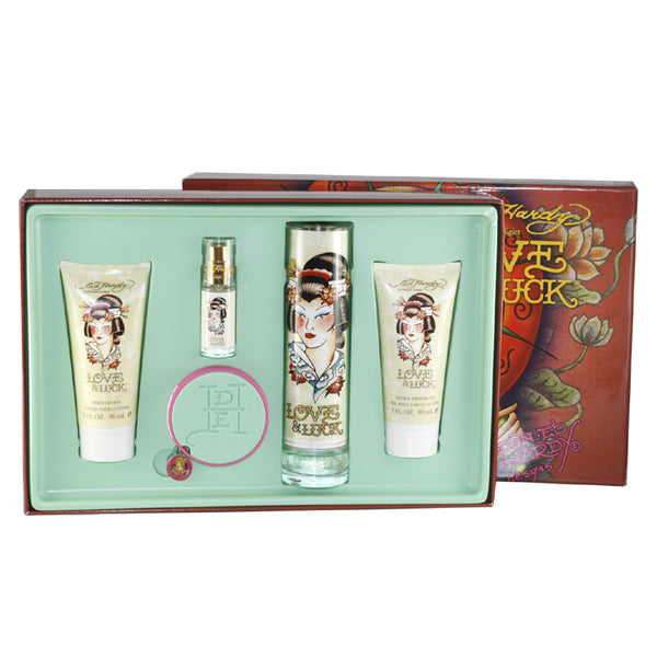 EHLT40 - Ed Hardy Love & Luck 5 Pc. Gift Set for Women