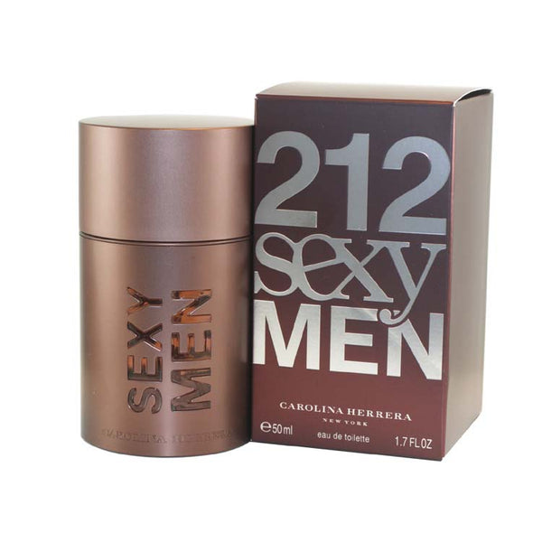 21211M - 212 Sexy Eau De Toilette for Men - 1.7 oz / 50 ml Spray