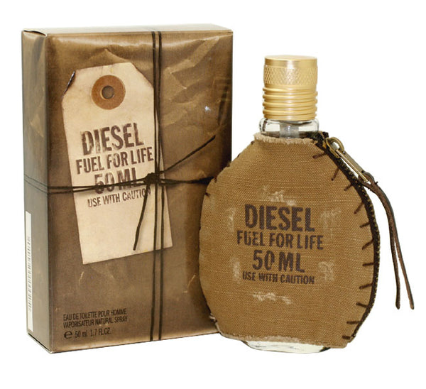 DIF26M - Diesel Fuel For Life Eau De Toilette for Men - 1.7 oz / 50 ml Spray