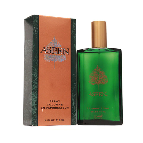 AS21M - Aspen Cologne for Men - 4 oz / 120 ml Spray