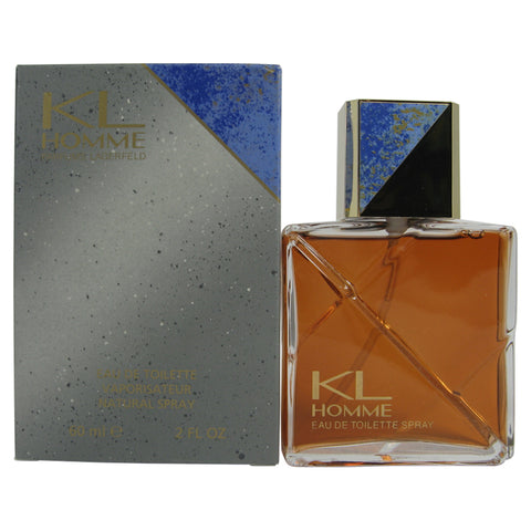 KL18M - Kl Homme Eau De Toilette for Men - Spray - 2 oz / 60 ml
