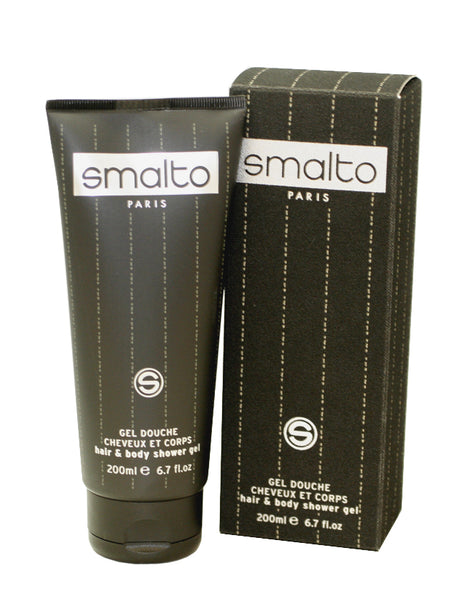 SM02M - Smalto Hair & Body Shower Gel for Men - 6.7 oz / 200 g