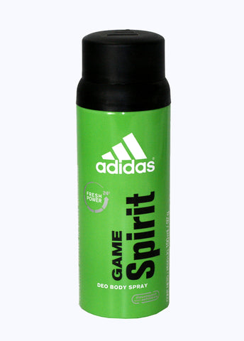 AD30M - Adidas Game Spirit 24 Hour Deodorant for Men - Body Spray - 5 oz / 150 ml