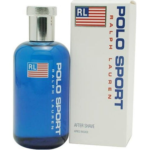 PO67M - Polo Sport Aftershave for Men - 4.2 oz / 125 ml