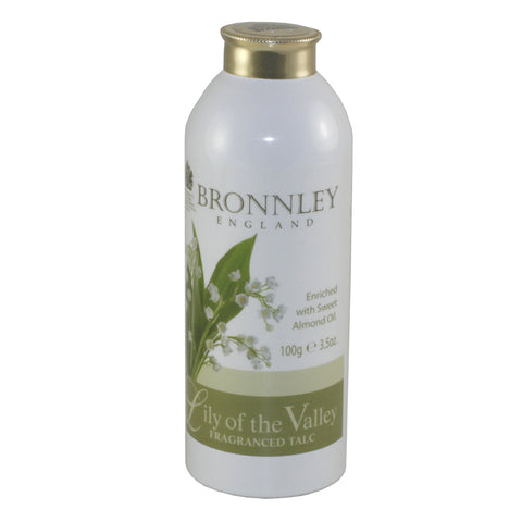 BRO23 - Lily Of The Valley Fragrance Talc for Women - 3.5 oz / 100 g