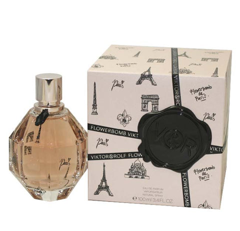 FBP34 - Flowerbomb De Paris Eau De Parfum for Women - Spray - 3.4 oz / 100 ml