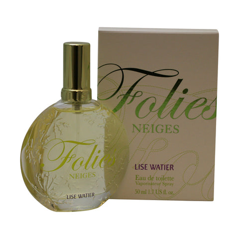 FON18 - Folies Neiges Eau De Toilette for Women - Spray - 1.7 oz / 50 ml