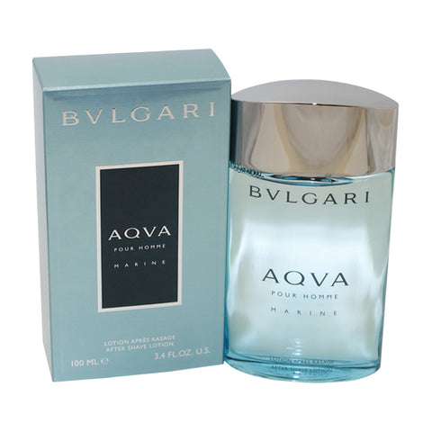 BVM18M - Bvlgari Aqva Marine Pour Homme Aftershave for Men - Lotion - 3.4 oz / 100 ml