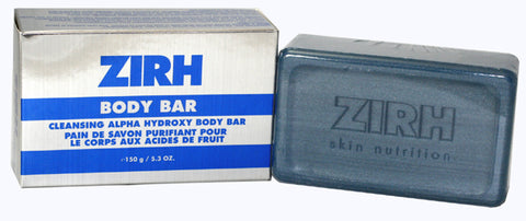 ZIR54M - Zirh International Zirh Alpha-Hydroxy Body Bar for Men | 5.3 oz / 160 ml