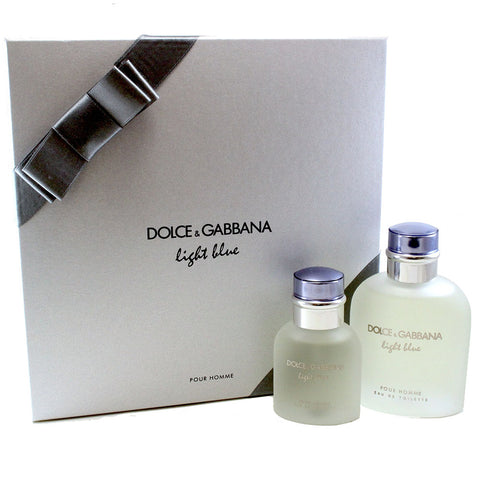DO412M - Dolce & Gabbana Light Blue Pour Homme 2 Pc. Gift Set for Men