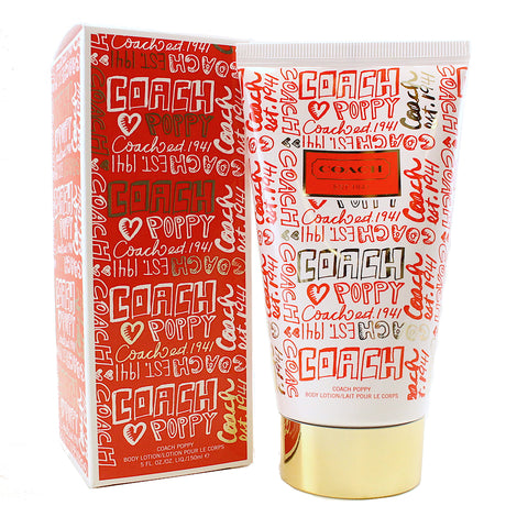 CPL37 - Coach Poppy Body Lotion for Women - 5 oz / 150 g