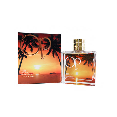OPG34M - Op Gold Eau De Toilette for Men - 3.4 oz / 100 ml Spray