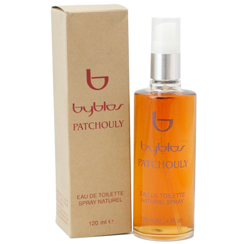 BYB11W-F - Byblos Patchouly Eau De Toilette for Women - Spray - 4 oz / 120 ml