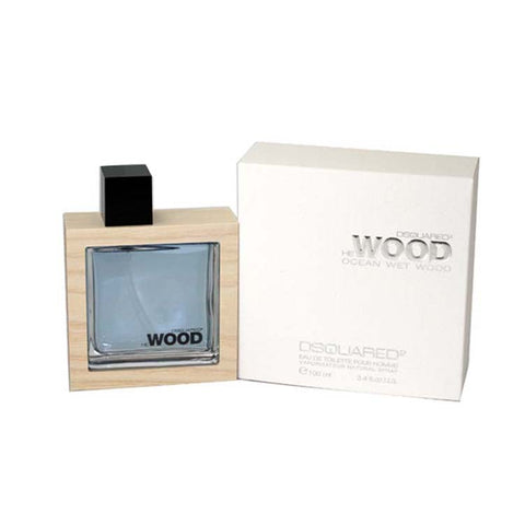 DESW30M - Dsquared2 He Wood Ocean Wet Wood Eau De Toilette for Men - Spray - 3.4 oz / 100 ml