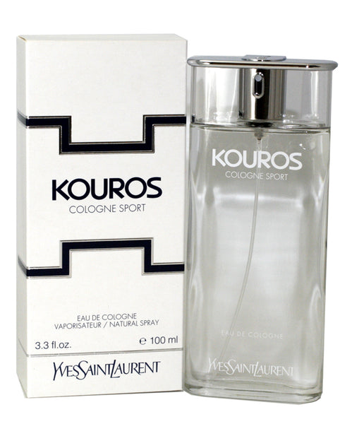 KOU12M - Kouros Sport Eau De Cologne for Men - Spray - 3.3 oz / 100 ml